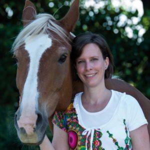 Foto Kerstin Heck mit Pferd